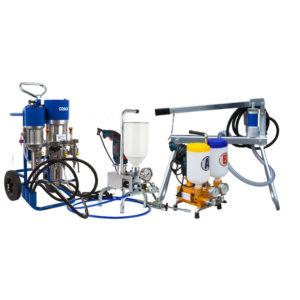 Насосы и комплектующие для инъекционной гидроизоляции Desoi