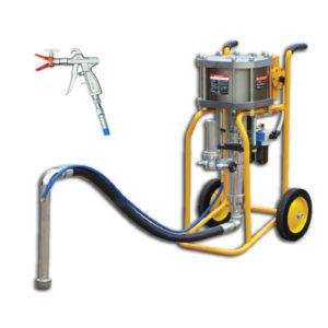 Окрасочное оборудование с пневмоприводом DinoPower
