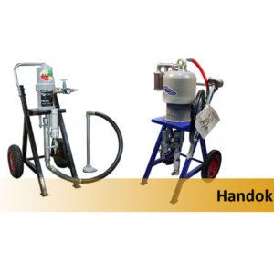 Окрасочное оборудование с пневматическим приводом Handok
