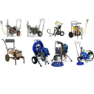 Продажа б/у окраосчного оборудования Wagner, Graco, Binks, Wiwa, Dino Power.
