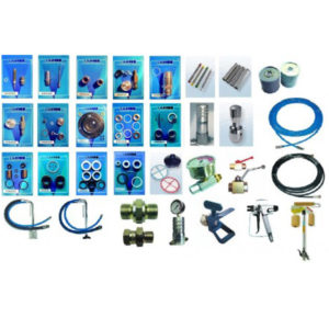 Ремкомплекты и комплектующие к окрасочным агрегатам Wagner, Graco, Dino Power, Binks